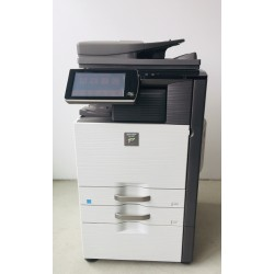 Sharp MX-4140N Farbkopierer, Drucker, Scanner, Fax, Finisher
