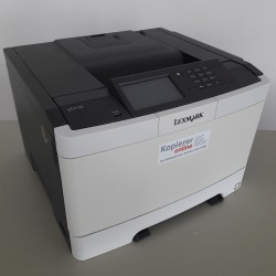 Lexmark C2132, Farb- Laserdrucker, LAN, Duplex, 30 Seiten/Min., NUR 9.375 Seiten
