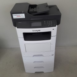 Lexmark XM1145 Schwarz-Weiß Kopierer Drucker Scanner Fax, NUR 1.015 Seiten