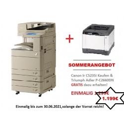 SOMMERANGEBOT Canon IR Advance C5235i , Farbkopierer, Farbdrucker, Fax + GRATIS TA P-C2660DN